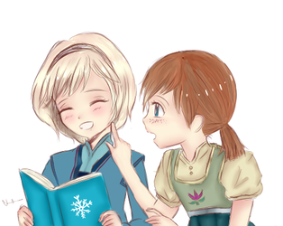 Do you want to build a snowman? by VaneKairi