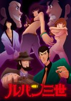 Lupin tribute by Tako-DNA