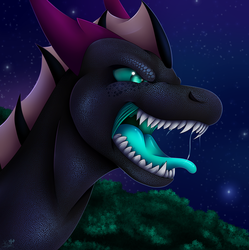 (Art Trade) A Voice That Rings by VDragon-Creations