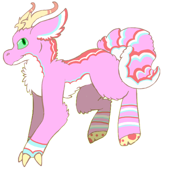 Valentines Day Floofie Adopt (OPEN) .:Male:. by DragonCartoons