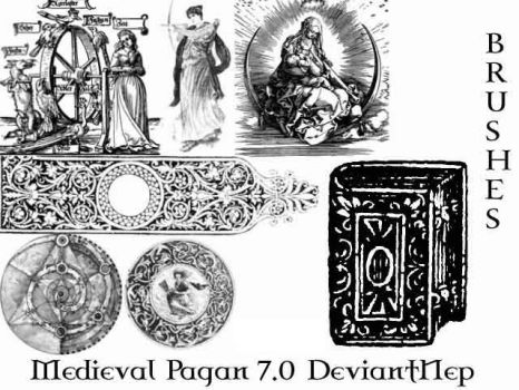Pagan Medieval Brushes 7.0 by DeviantNep