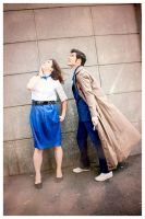 Doctor Who ?! BBC - A Time Lord and a Tardis Girl by Hirako-f-w