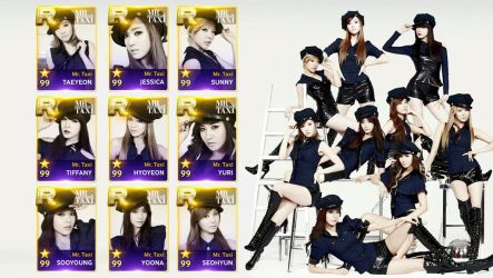 Superstar SMTOWN - Girls Generation Mr Taxi v2 by AbouthRandyOrton