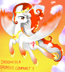 Queen Indonesty flying by AuliaNuzilal