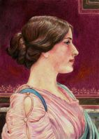 Classical Beauty (JW Godward) by Pevansy