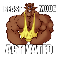 Beast Mode Activated by Penn92Evans