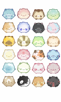 (3 LEFT) Blob Cat Adopts :OPEN: by TwoPhoenixAdopts