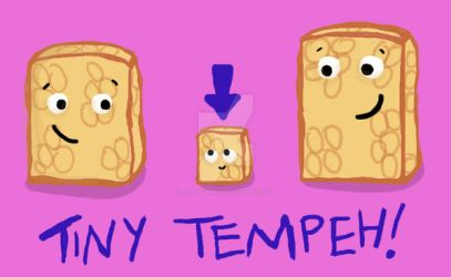 Tiny Tempeh by flash-gordonette