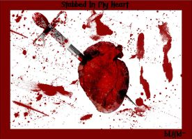 Stabbed in my heart by bLiNd-
