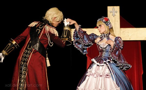 Le Chevalier D'Eon Cosplay by xall