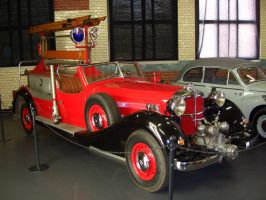 Horch firefighter car. by FutureWGworker