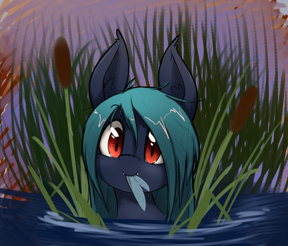 Waterbat by otakuap
