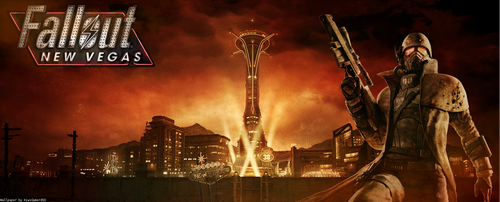 Fallout New Vegas Wallpaper/Banner Thing by KiwiGamer450