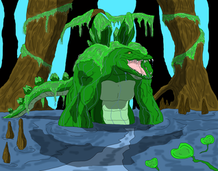 The Gator by GalaxyZento