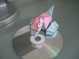 Porygon papercraft