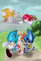 SONIC 25TH ANNIVERSARY by Metal-M