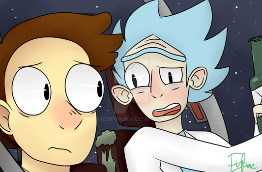Rick And Morty Screenshot by izzi6780