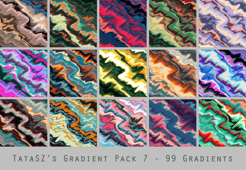 Gradient Pack 7 by tatasz