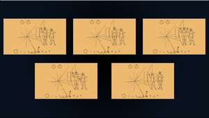 ExoConference - Pioneer 10 Plaque Set by DiggerEl7