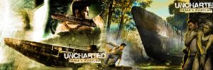 Uncharted Drake's Fortune wall by Toxigyn