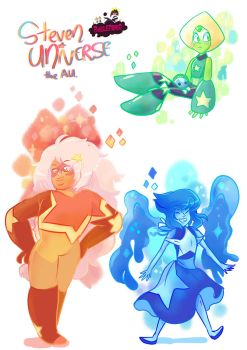 Steven Universe the AU by BubbleDriver