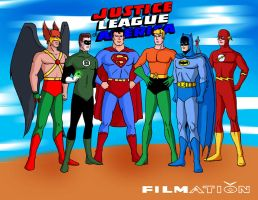 Filmation's Justice League by tomjf