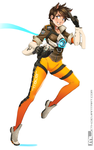 Commission - Tracer by MLeth