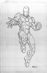 Iron Man by bobbett
