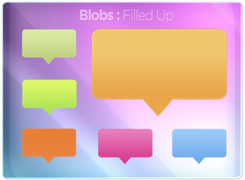 Blobs Filled Up by magaxion