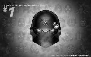 Random Helmet examples No1 by LawrenceMann