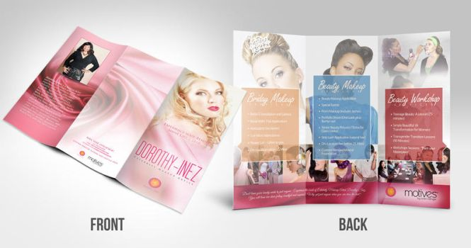 Beauty Trifold Brochure by jlgm25