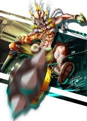 Junkrat color by BRAINandFAT