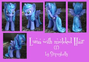 Luna with molded hair by stripeybelly