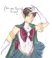 Magical girl Levi by Joaneko