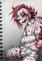 Goretober 2018 Day 3 by XXAnemia