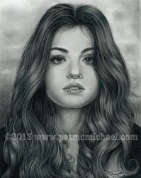 Lucy Hale by pat-mcmichael