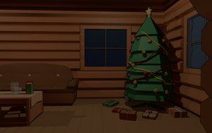 3Dcember - Day8 - Christmas Tree by Daragos90
