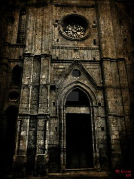 the dark Church by ForestoFairies