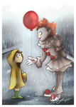 Want A Balloon Georgie? by Blossom-fur7