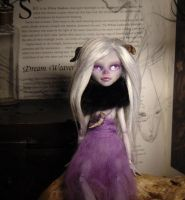Horned Faerie OOAK by BurnedRavenTales