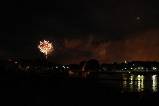 fireworks in portsmouth by sselfless