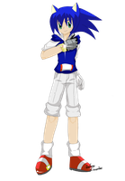 CG : Sonic as human by kefron