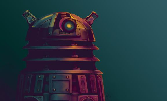 Dalek by KiloWhat