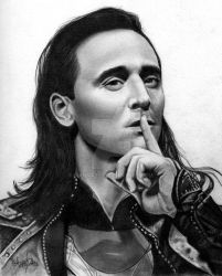 Loki - Tom Hiddleston by Mannaz11