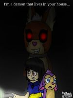Demon in Your House (Tattletail) by WaffleBunnyPie