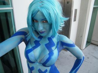 cortana close up by solo-knight6
