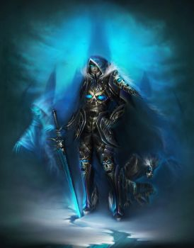 Death Knight by oione