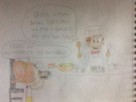 The new Swedish chef by tanasweet123