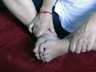 Foot contact by Groucho91