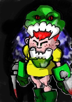 My first tablet sketch by mano-emanuel
